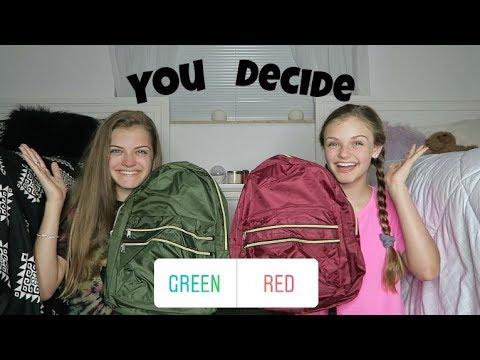 Instagram Followers Choose Our School Supplies ~ Jacy and Kacy