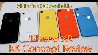 IPhone xr kk concept clone dual sim unboxing