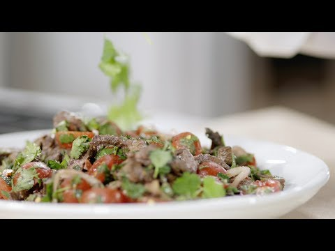 A Spicy, Sweet Beef Salad from Thailand