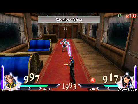 Dissidia Duodecim [012] Final Fantasy Gameplay - Squall vs Laguna Loire