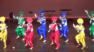Surrey Folk Bhangra Club @ Bay Area Bhangra Giddha 2016