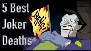 The 5 Best Deaths Of The Joker thumbnail