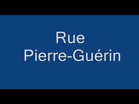 Rue Pierre Guérin Paris Arrondissement  16e
