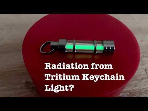 Radiation From Tritium Keychain Light??