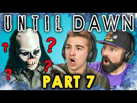 KILLING FOR LOVE!  UNTIL DAWN  Part 7 React: Let's Plays