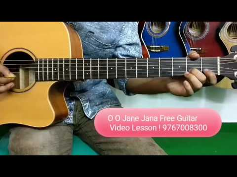 O O Jane Jana Free Guitar video Lesson ! - YouTube