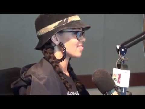 "Elle Varner Sings ""Don't Wanna Dance"" & Talks About ""Four Letter Word"" in Power 98 Interview"