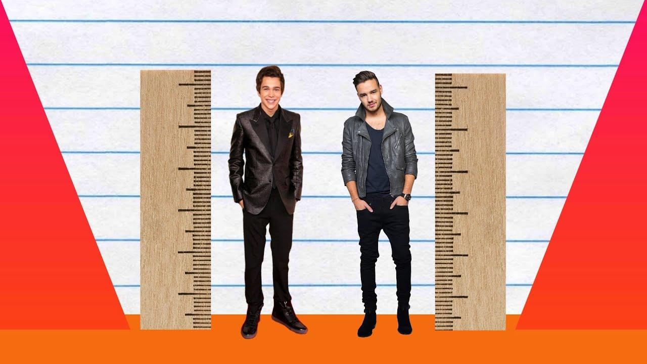 How Much Taller? - Austin Mahone vs Liam Payne! - YouTube