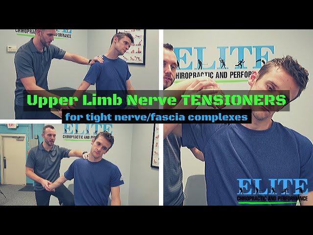 Upper Limb Nerve Tensioners for Neck and Shoulder Tightness