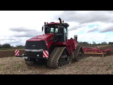 Case IH Quadtrac 620 in action...in Co. Wexford (Ireland)