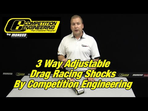 3-Way Adjustable Drag Shocks By Competition Engineering