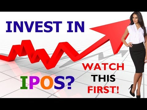 Invest in IPO Stocks? Watch This First // ipos investing strategies to buy in 2018 strategy