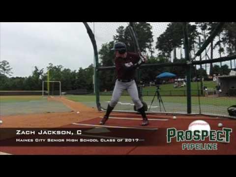 Zach Jackson, C, Haines City Senior High School, Swing Mechanics at 200 FPS #TOS16