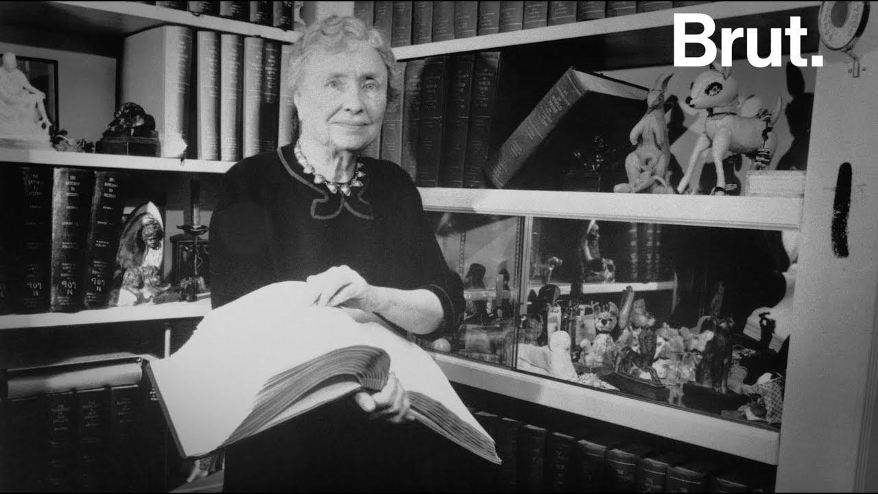 Le parcours de vie incroyable d'Helen Keller