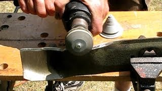 How to remove, sharpen and balance a lawn mower blade