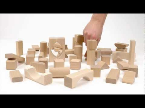 BRIO 50 Natural Blocks