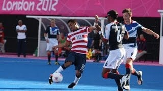 Football 7-a-side highlights - London 2012 Paralympic Games