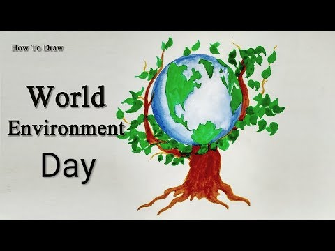 Environment Day Poster For Kids