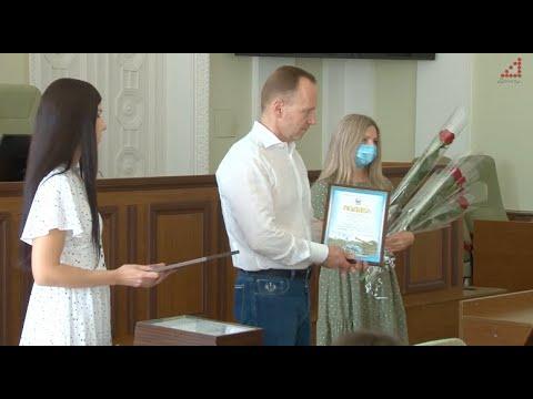 Телеканал «Дитинець»: Міський голова привітав будівельників з професійним святом, яке Україна відзначає 9 серпня