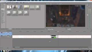 Sony Vegas Pro 15-How To Use Transitions.