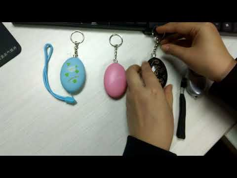 Personal Security Alarm Keychain for Women, Kids Self Defense