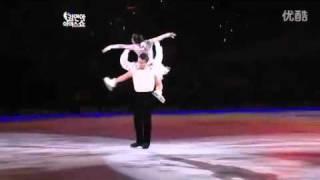 申雪赵宏博2011ATS花样滑冰表演  天下无双(张靓颖演唱)
