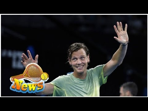 Tomas berdych, 32, jokes about players having success at 36