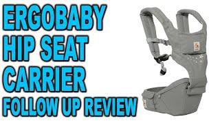 Ergobaby Hip Seat Carrier - Follow Up Review - Clueless Dad