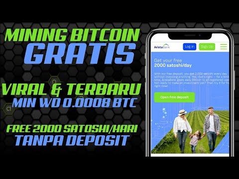 MINING BITCOIN GRATIS - CLOUD MINING BITCOIN TANPA DEPOSIT - MINING BITCOIN TERCEPAT - FREE BTC