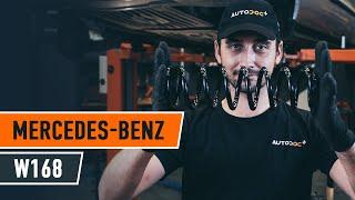 Hvordan bytte Dynamo MERCEDES-BENZ A-CLASS (W168) - online gratis video