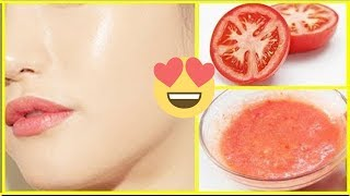Skin Whitening Tomato Facial at home | Get Fair, Glowing, Spotless Skin Permanently