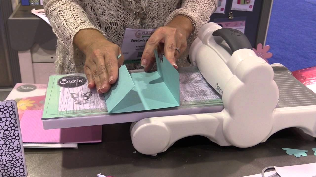 Sizzix - Stephanie Bernard - Half Card Creations - CHA 2016 - YouTube