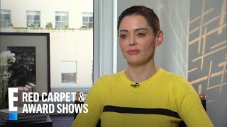 Rose McGowan Clarifies Her Comment on Meryl Streep | E! Live from the Red Carpet