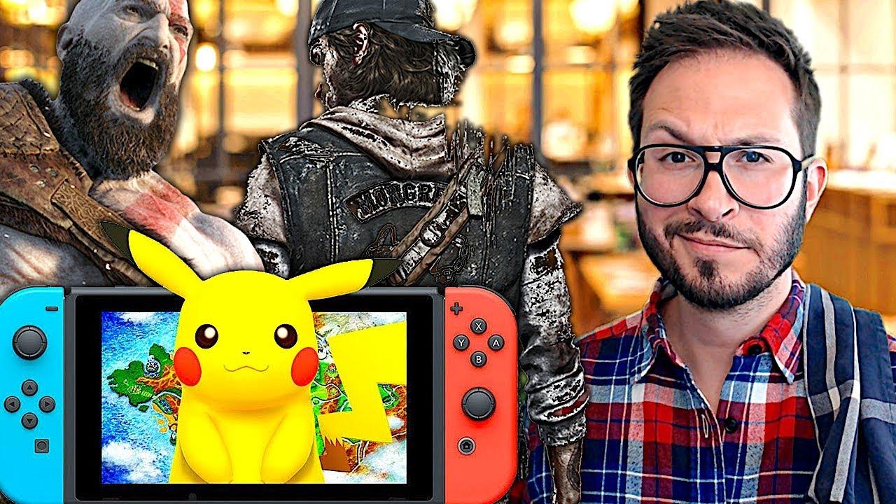 Days Gone daté, la fin des consoles, Pokémon 2019, God of War la suite...