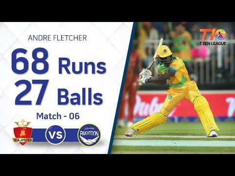 Andre Fletcher hard hitting 68 from 27 balls!!
