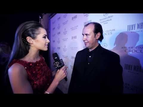 Mercedes Benz Fashion Week Russia - Tony Ward, ms Universe