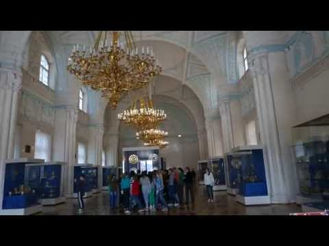 Hermitage Museum Alexander's Hall & French Art @ Winter Palace (4K)