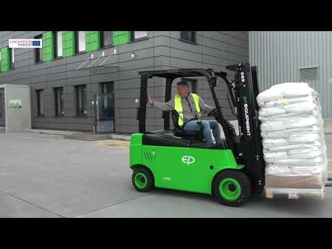 EP Equipment L1 Li-Ion Forklift Test