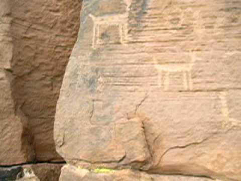 RoadHacker: Petroglyphs at Lyman Lake State Park in Arizona