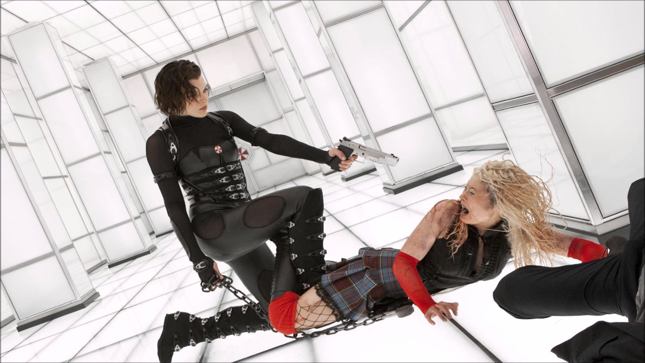 Resident Evil Retribution Soundtrack 07 Axemen Youtube
