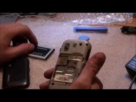 Ремонт телефона SAMSUNNG DUOS GT b5722