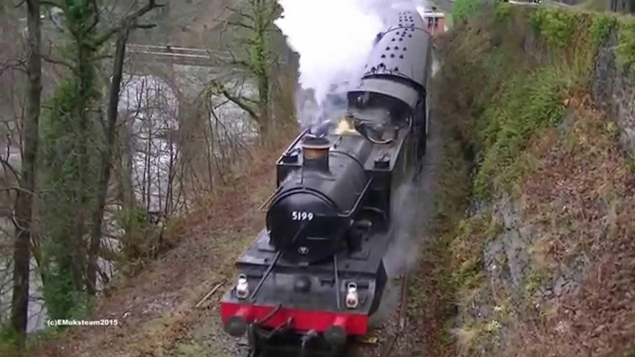 Steam,Steel & Stars. Llangollen Railway 13.3.2015