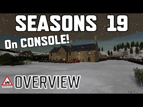 SEASONS 19 On CONSOLE (OVERVIEW) Farming Simulator 19 PS4 (Review).