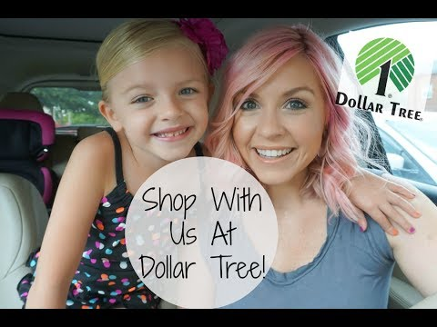 Come Shop With Me At Dollar Tree| Shopping Dollar Tree With My Girl| Megan Navarro