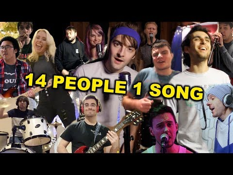 """14 People 1 Song! (Jimmy Eat World """"The Middle"""" Cover) Mp3"""