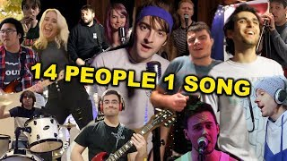 14 People 1 Song! (Jimmy Eat World