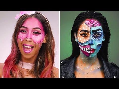 Halloween Makeup Tutorial | DIY Halloween Looks & Beauty Hacks by Blusher