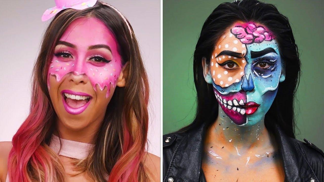 Halloween Looks With Everyday Makeup.Halloween Makeup Tutorial Diy Halloween Looks Beauty Hacks By Blusher