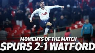 HEUNG-MIN SON TWISTS AND TURNS BACK INTO ACTION! | Moments of the Match | Spurs 2-1 Watford