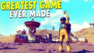 [LIVE🔴] NEW UPDATE ON BEST GAME EVER MADE - Building Space Base | No Man's Sky Gameplay